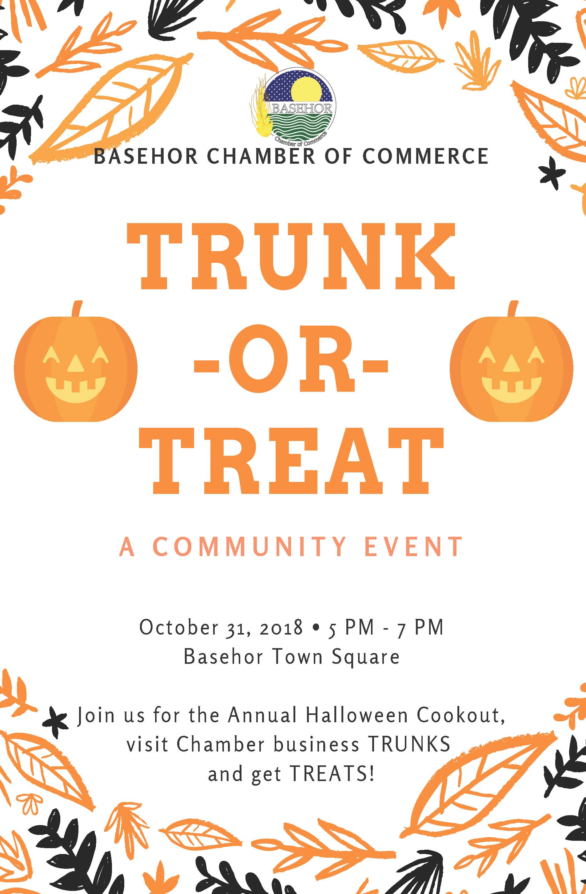 Chamber Trunk or Treat 2018